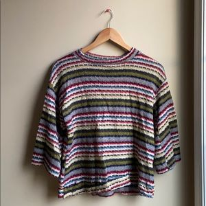 Multicolored Knit Sweater